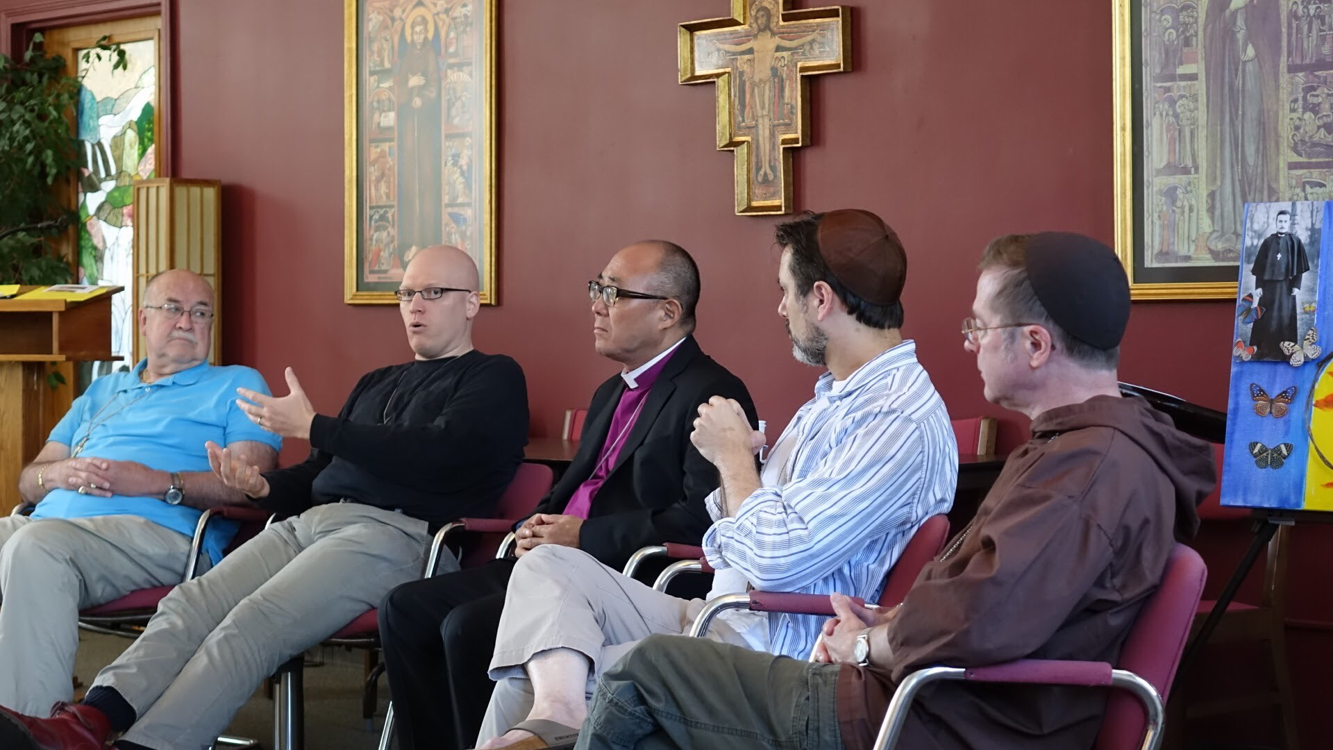 Brothers join Bishop Michel and Bishop Shin to discuss General Convention